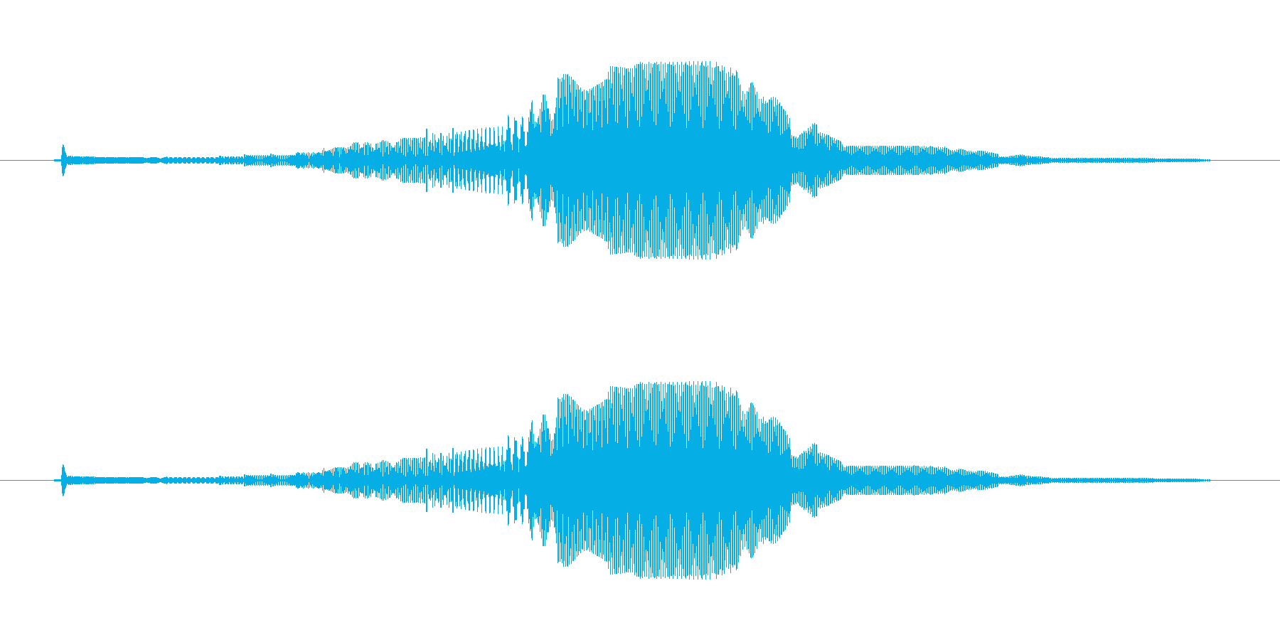 SFっぽい電子音。キャンセルボタンなど…の再生済みの波形
