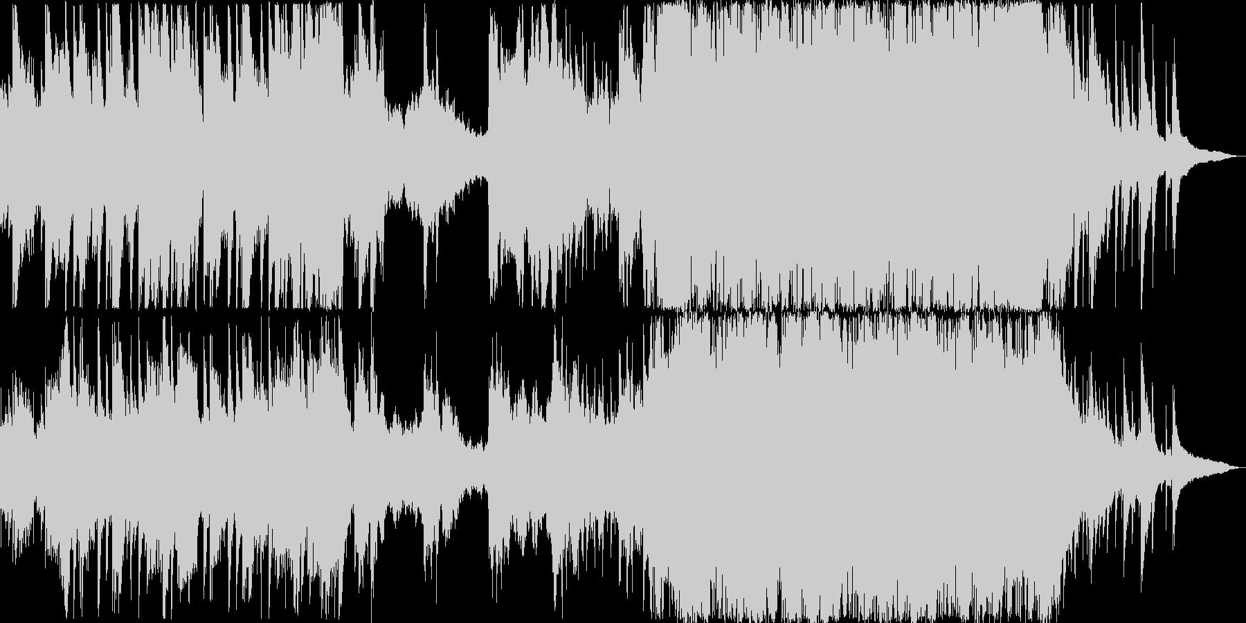ワーグナー・ウエディングマーチ短編映像風の未再生の波形