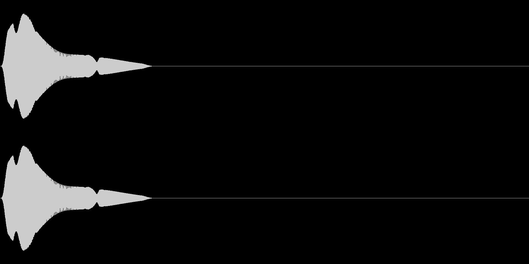 ジャンプ(ぴょん/かわいい/小動物)_1の未再生の波形