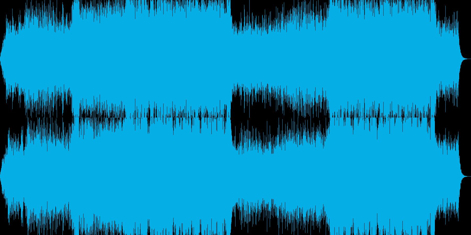 映画音楽、荘厳重厚、映像向け-34の再生済みの波形