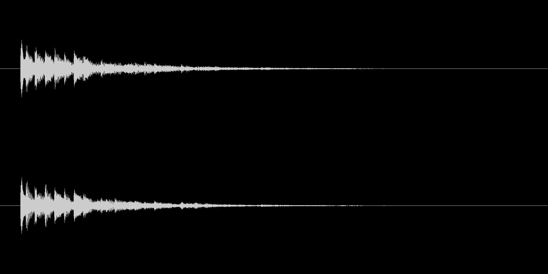 【ショートブリッジ14-2】の未再生の波形