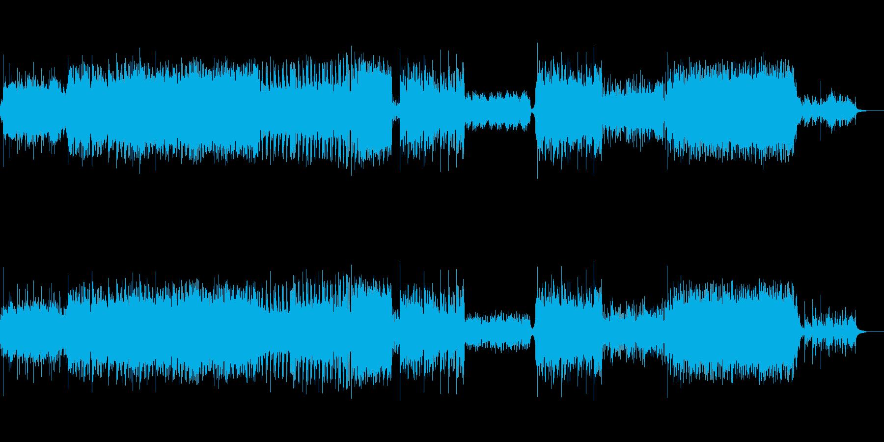 生バイオリンで奏でる切な曲の再生済みの波形