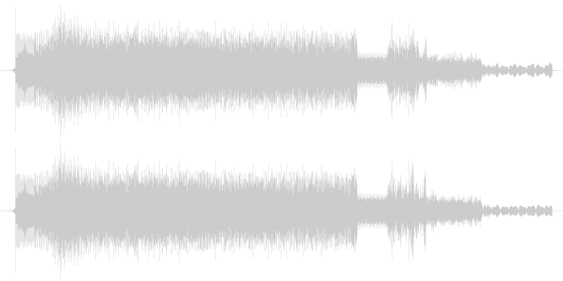 ウィーン・ガチャ(メカ駆動音・低)の未再生の波形
