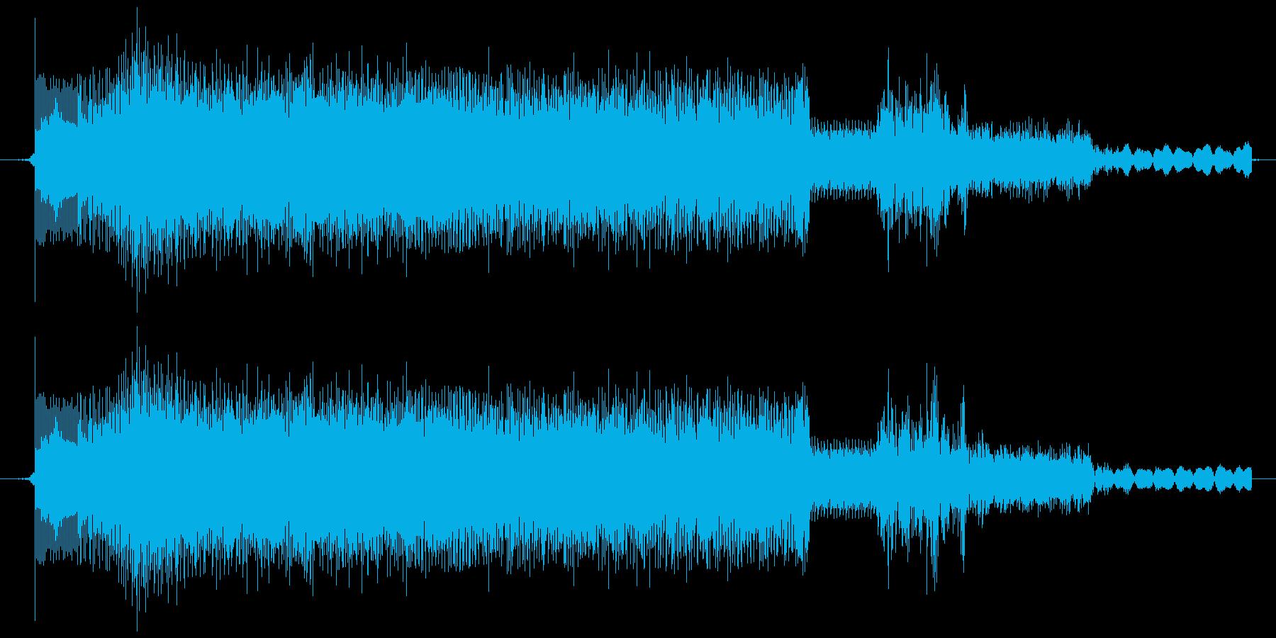ウィーン・ガチャ(メカ駆動音・低)の再生済みの波形