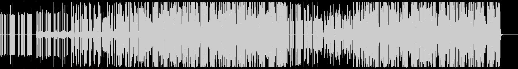 ゲーム的ポップチューン音楽の未再生の波形