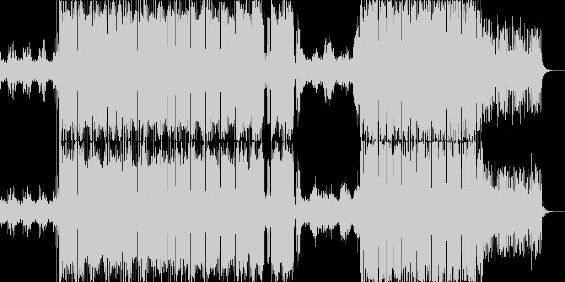 少しアンビエントな雰囲気を取り入れたフ…の未再生の波形
