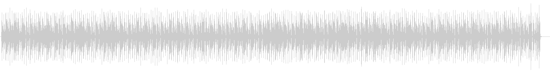 シックでベースが印象的なポップスの未再生の波形