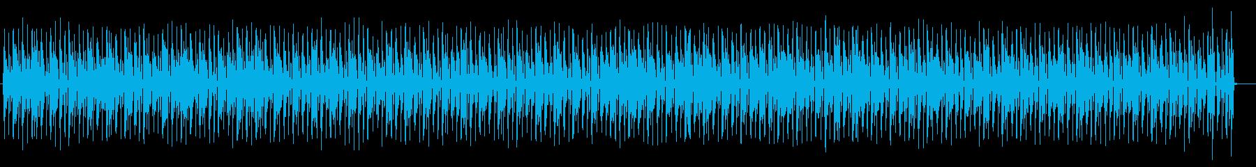 シックでベースが印象的なポップスの再生済みの波形