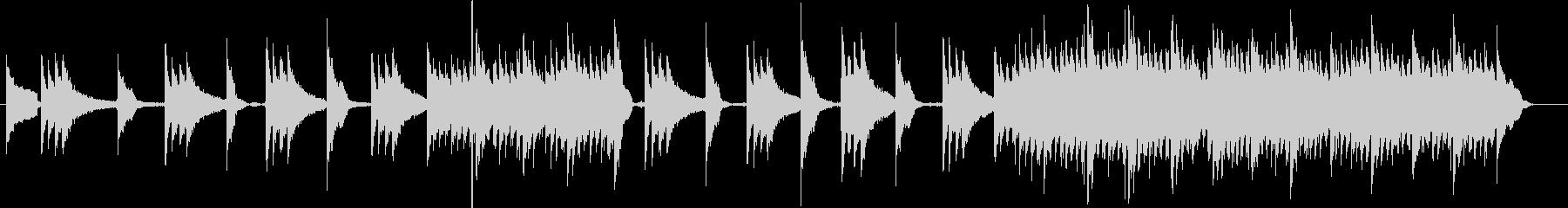アコースティックギター不協和音 前衛演奏の未再生の波形
