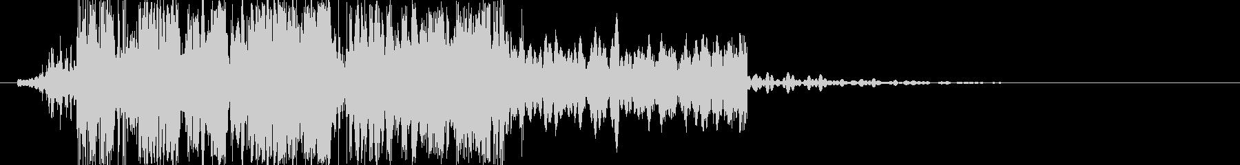 カチコチカチの未再生の波形
