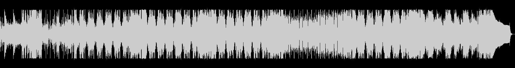 アニメに出てきそうなハチャメチャポップスの未再生の波形