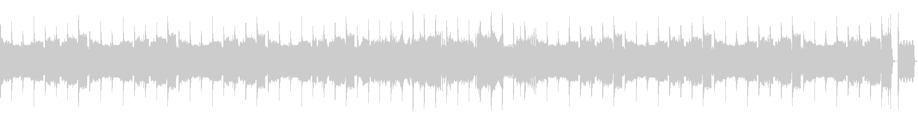 (8bit風、ドラム、ベース抜)の未再生の波形