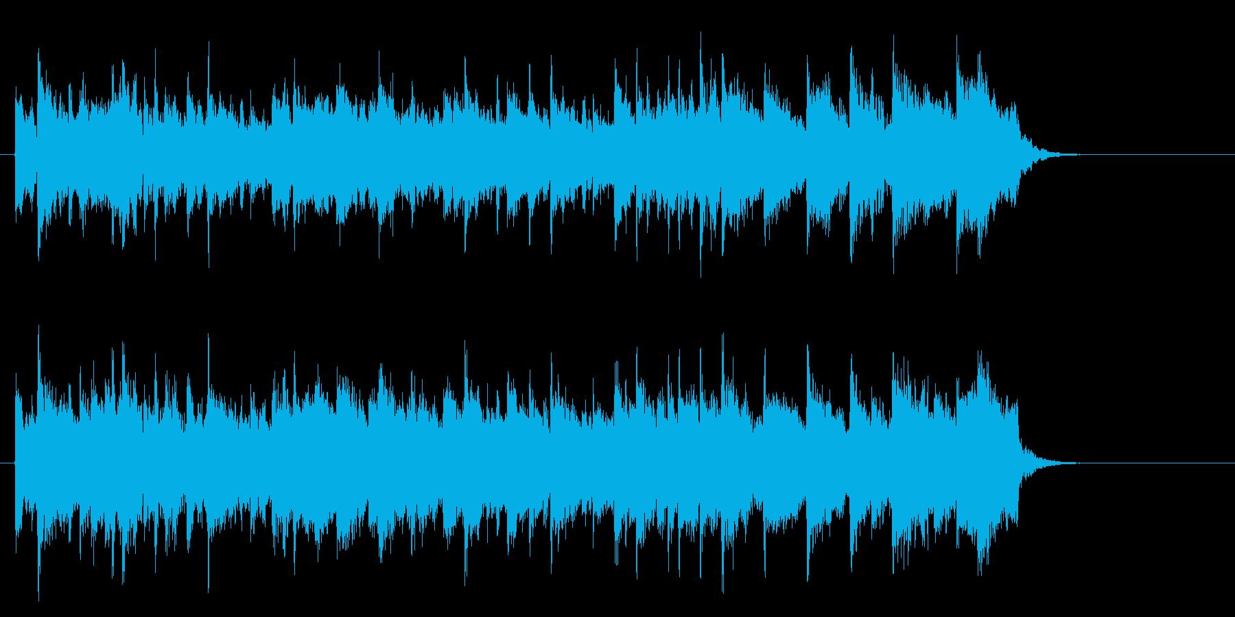 アコースティックバラード(サビ~エンド)の再生済みの波形
