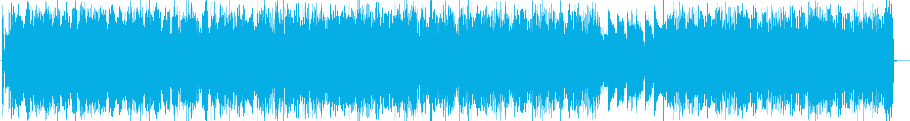 ミステリアス感のシンセ・ピアノテクノ系の再生済みの波形