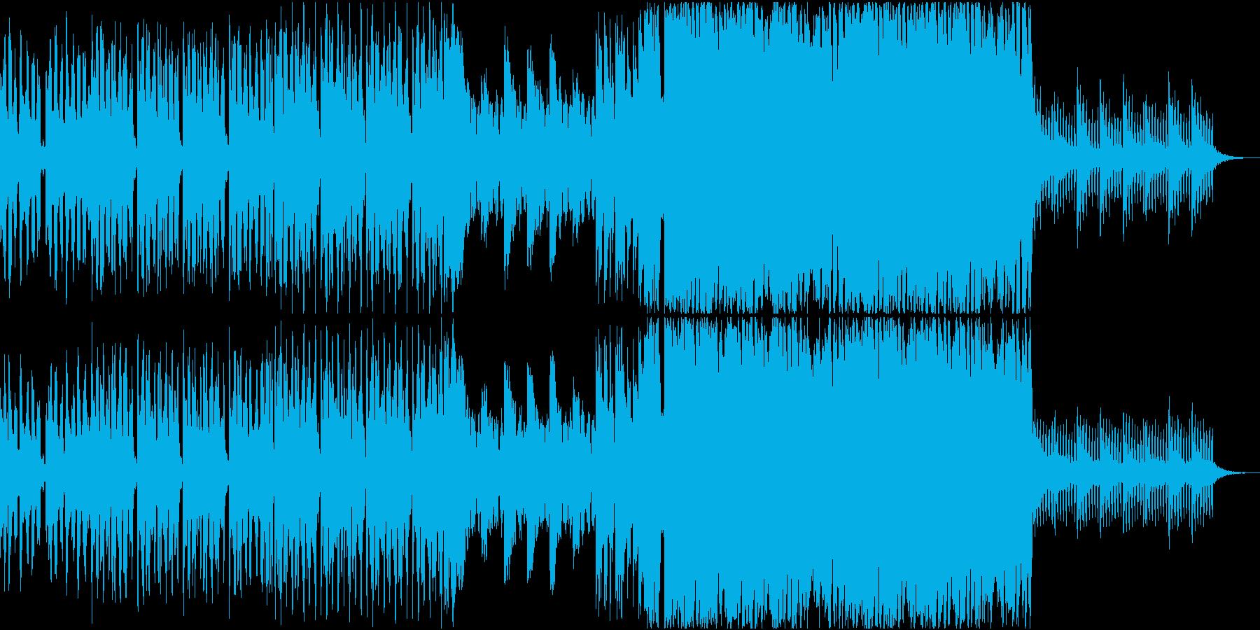 可愛いポジティブなEDMの再生済みの波形