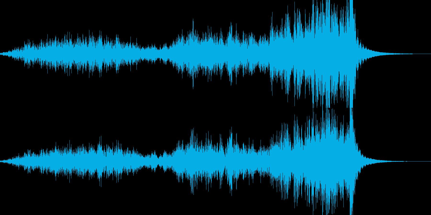 【抜刀】刀や剣を鞘から抜く音02の再生済みの波形