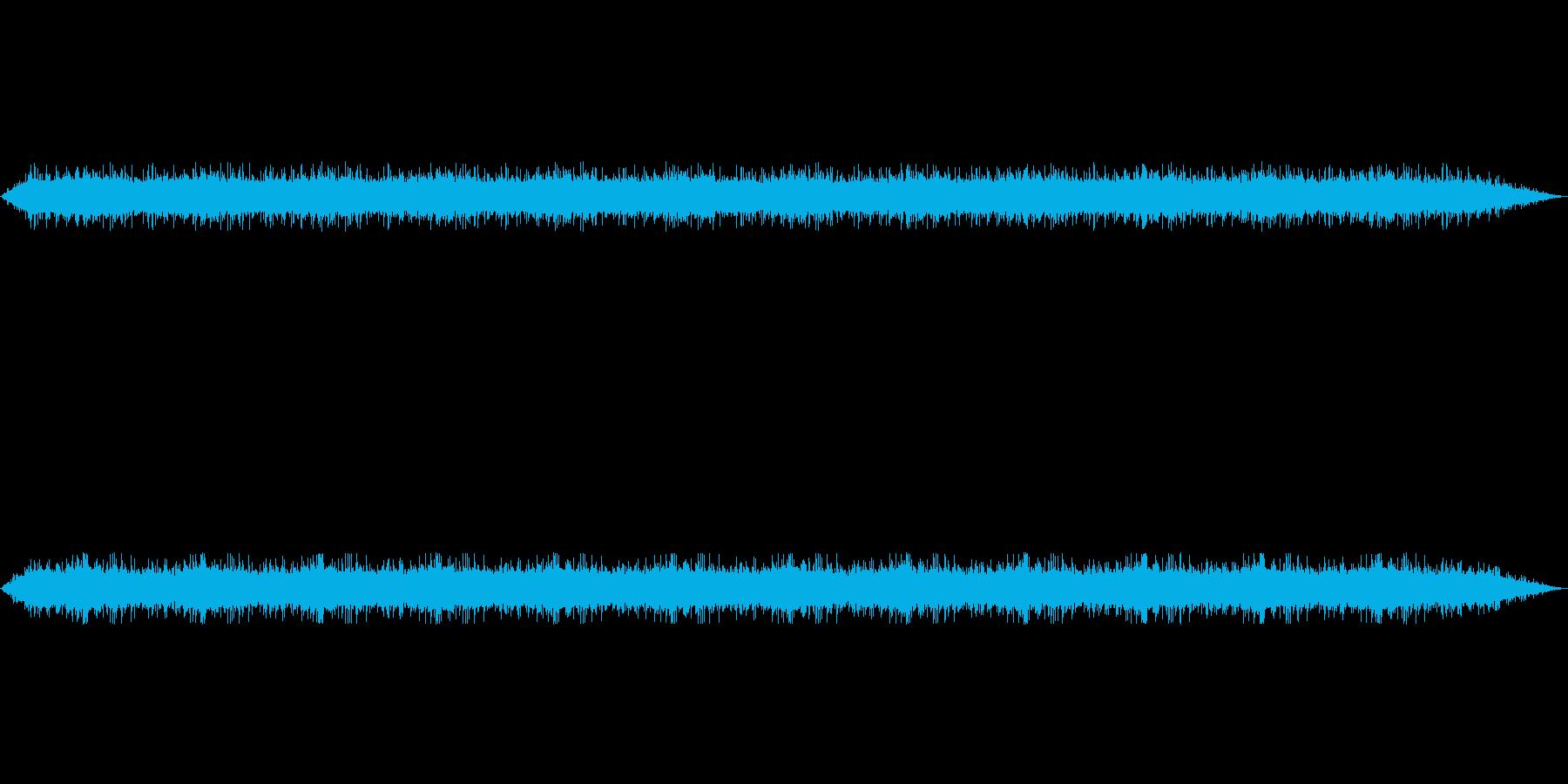 【雨 生録 環境01-1】の再生済みの波形
