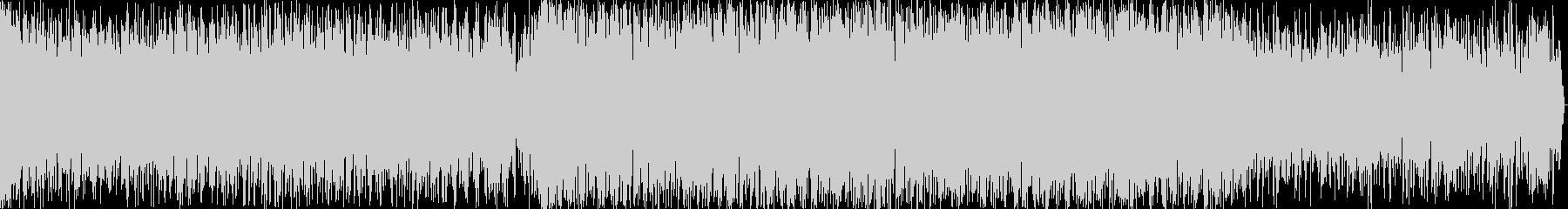 近未来的イメージのEDM楽曲の未再生の波形