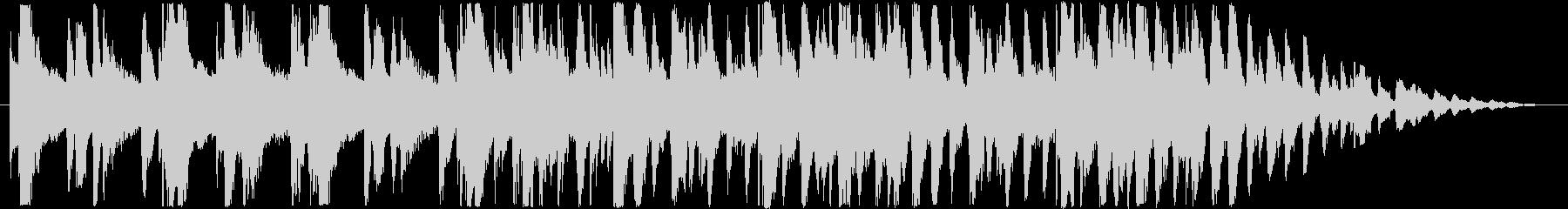 ノスタルジックな雰囲気の30秒JAZZの未再生の波形