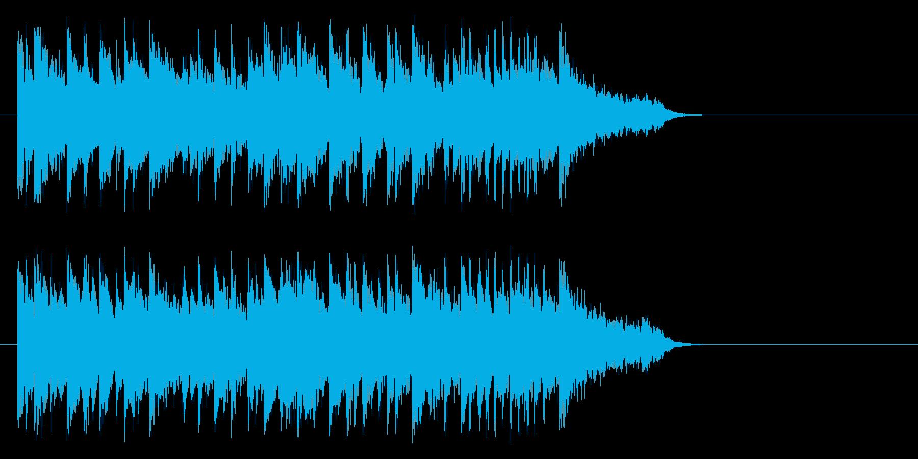 きらめきのおだやかサウンドの再生済みの波形