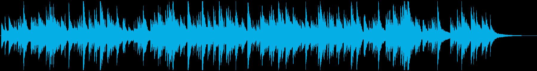 シューマンのトロイメライ【子供の情景】の再生済みの波形