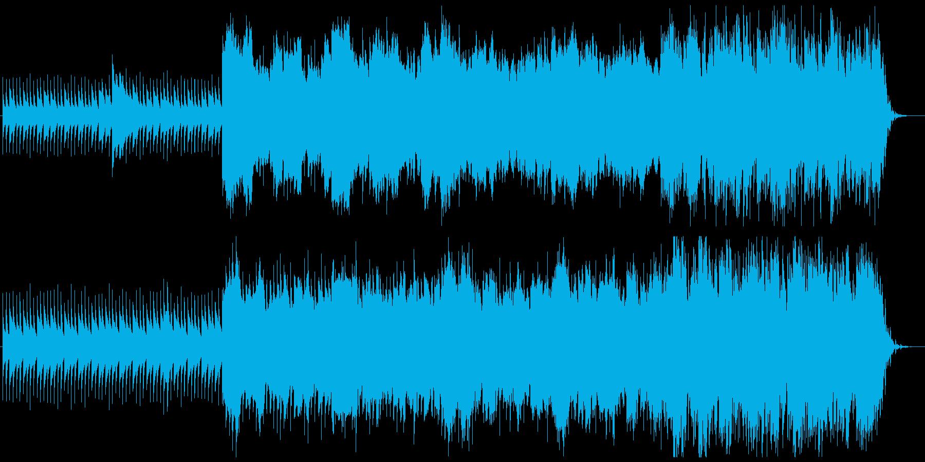 フレーズが頭に残る不気味で怪しげなBGMの再生済みの波形