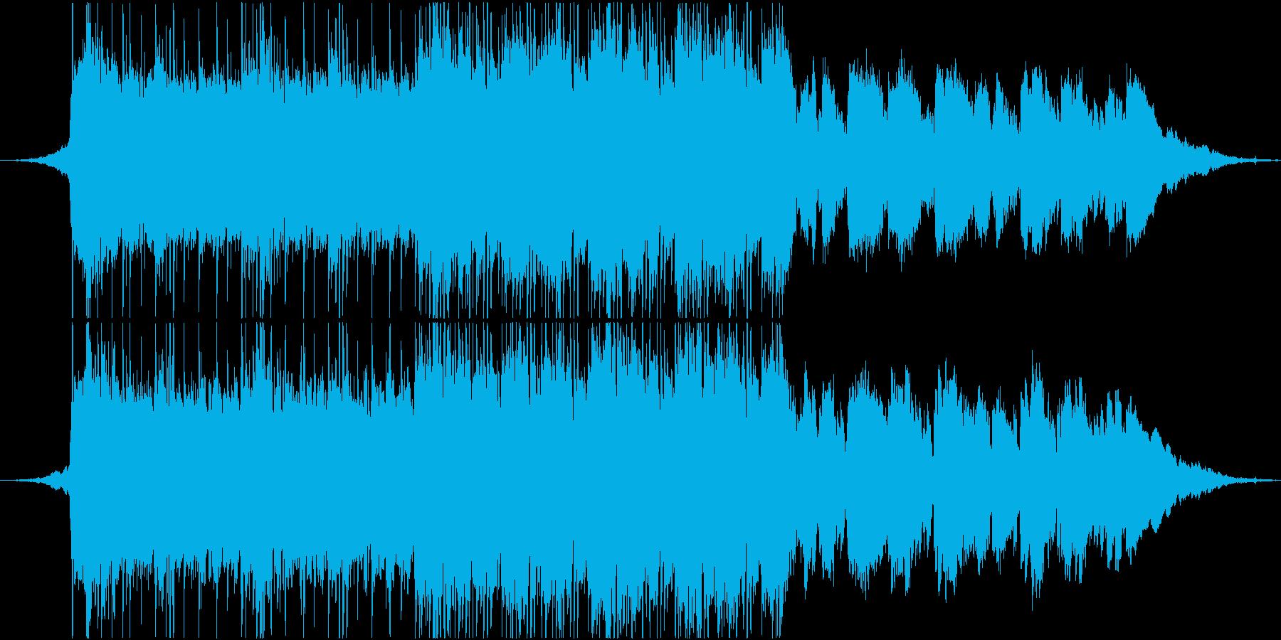 透明な記憶の再生済みの波形