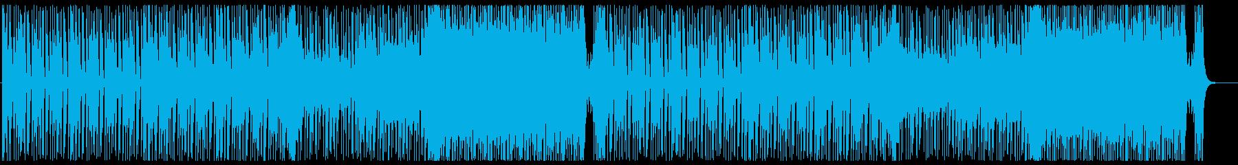スケール感のあるバトル系エピックロックの再生済みの波形