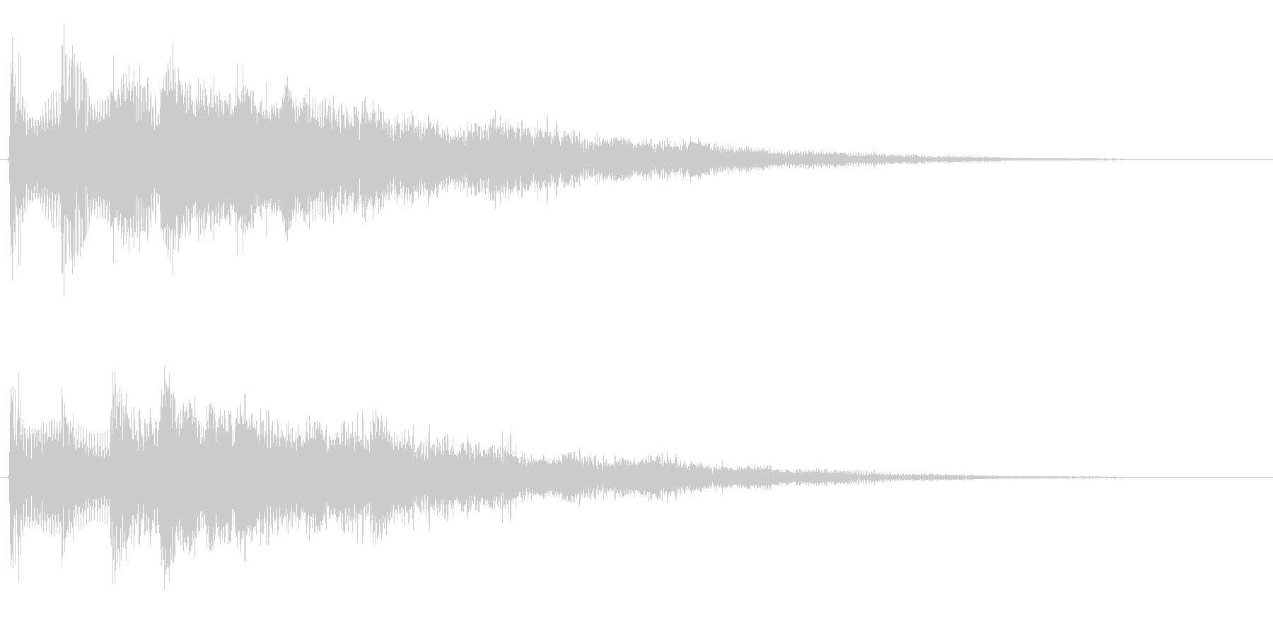 サウンドロゴ想定不安なエレキギターの未再生の波形