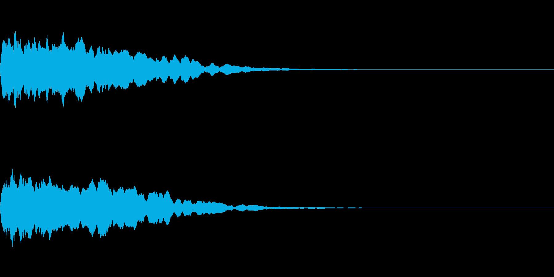 トレーラー用シネマチックアラーム・ピン1の再生済みの波形