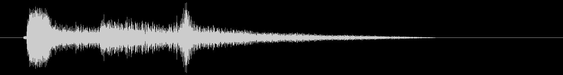 アコギ 回想シーン 切り替えの未再生の波形