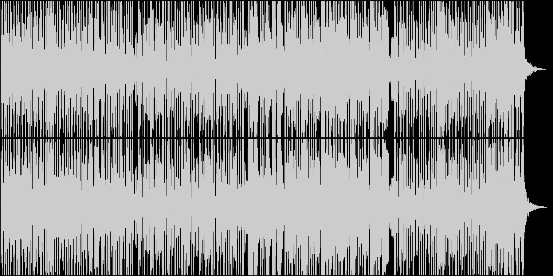 切ないメロディのゆったりした和風楽曲の未再生の波形
