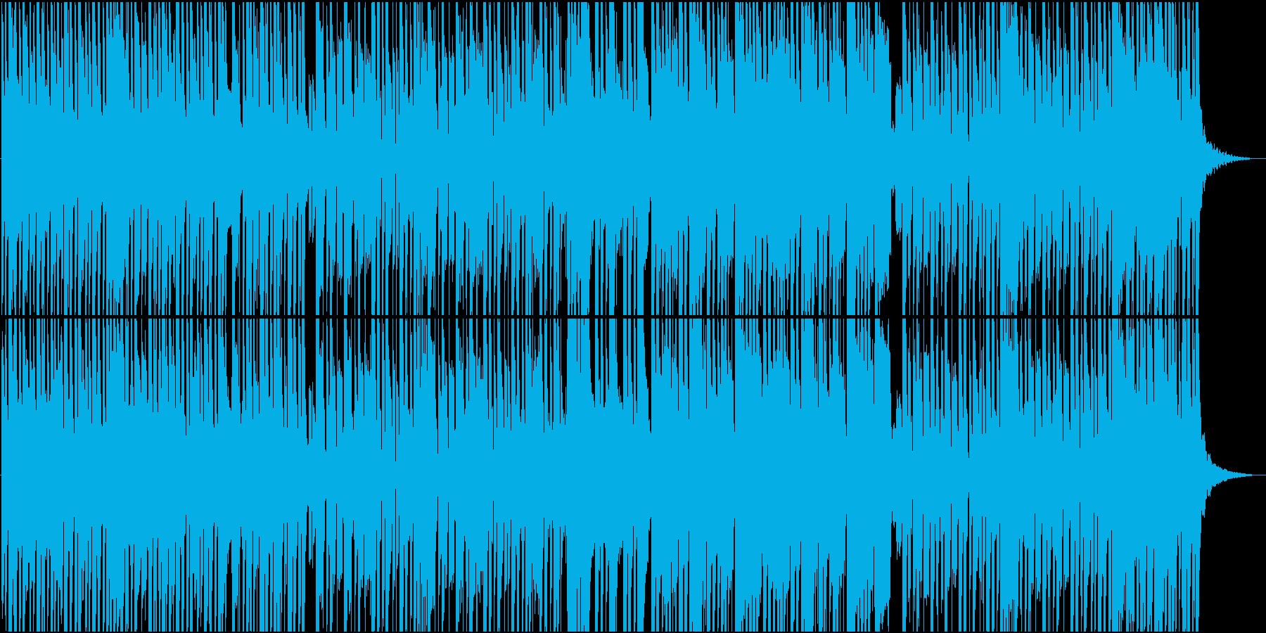 切ないメロディのゆったりした和風楽曲の再生済みの波形