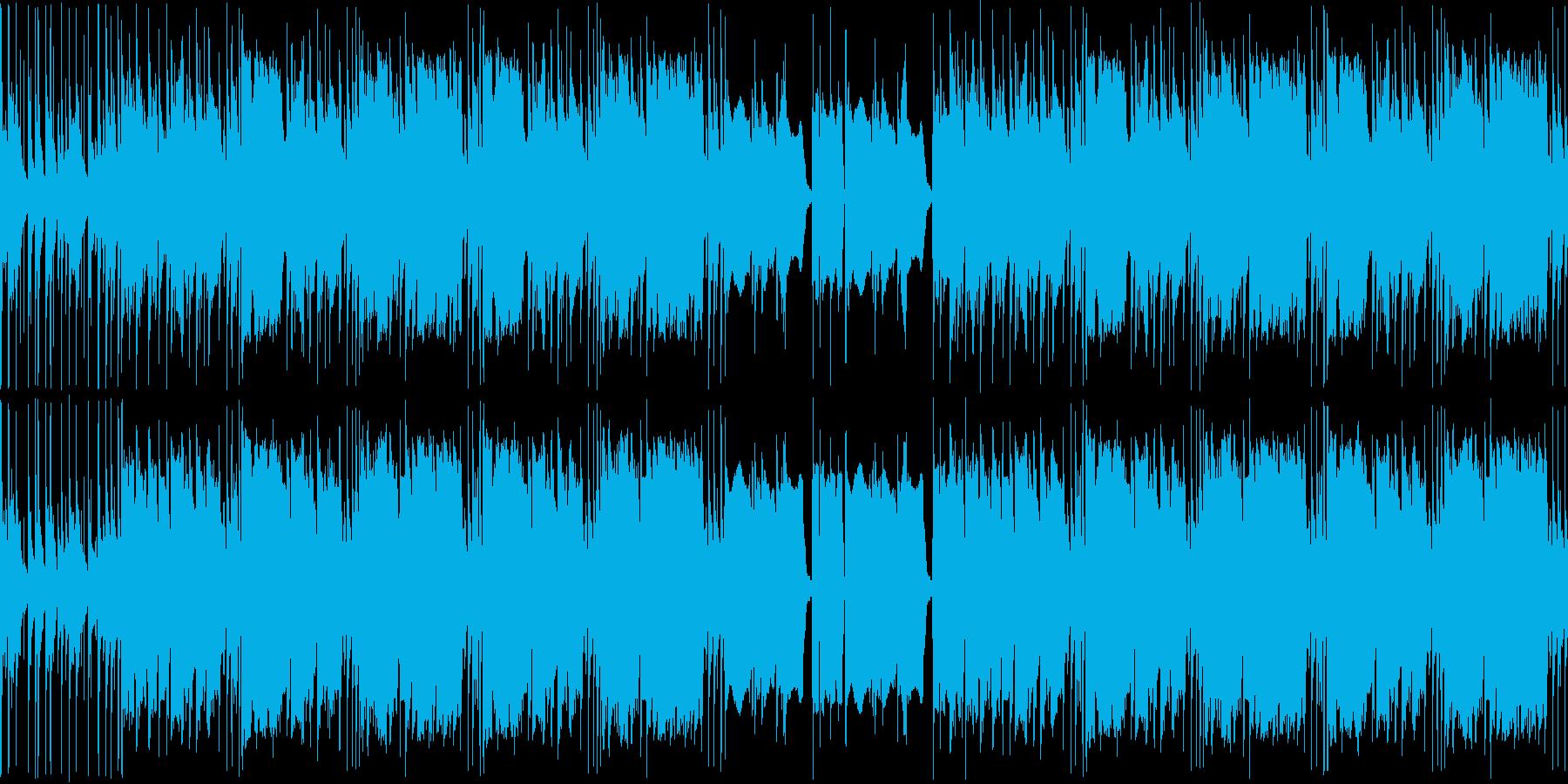 【アップテンポJAZZ・サックス】の再生済みの波形