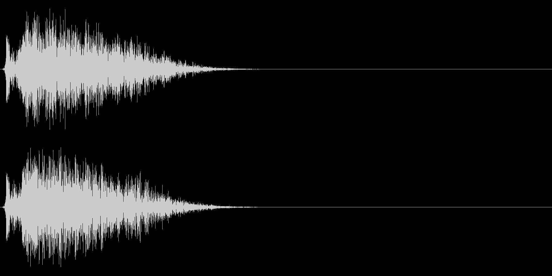 コミカルなダッシュ!ジャンプの効果音1cの未再生の波形