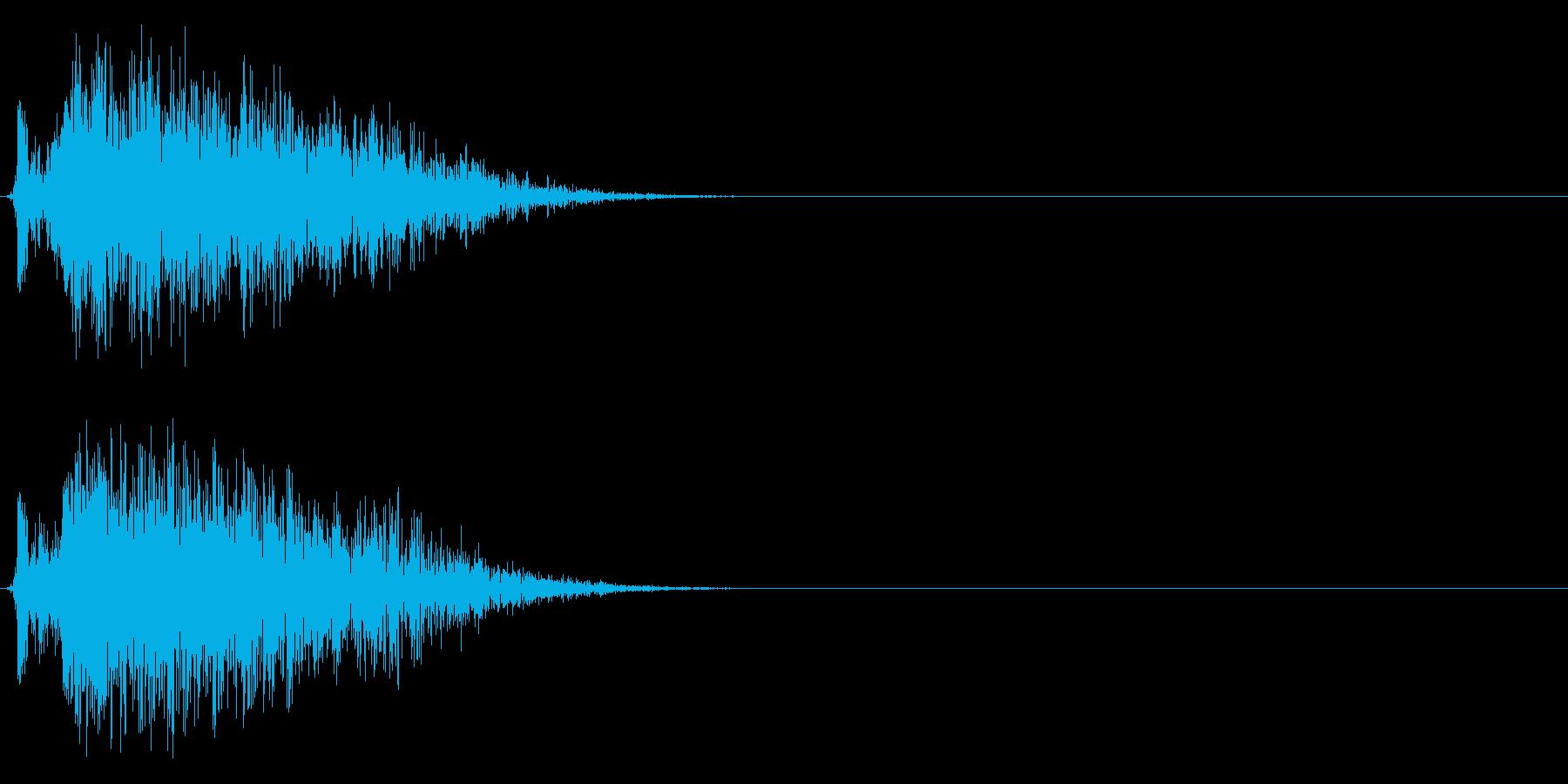 コミカルなダッシュ!ジャンプの効果音1cの再生済みの波形