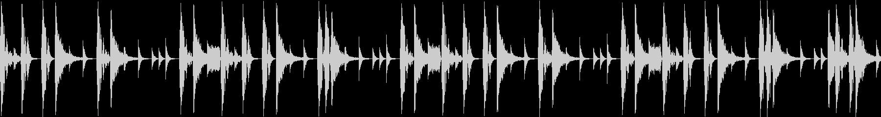 ノリの良いブレークビーツ_005の未再生の波形