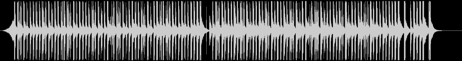 ドラムと手拍子ジングル明るい疾走感(中)の未再生の波形