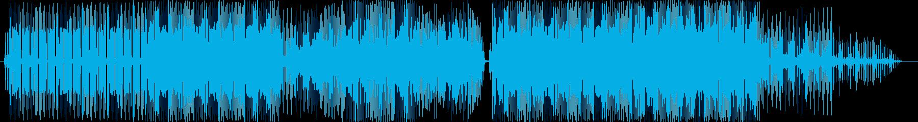 おしゃれな感じを演出する楽曲となってい…の再生済みの波形