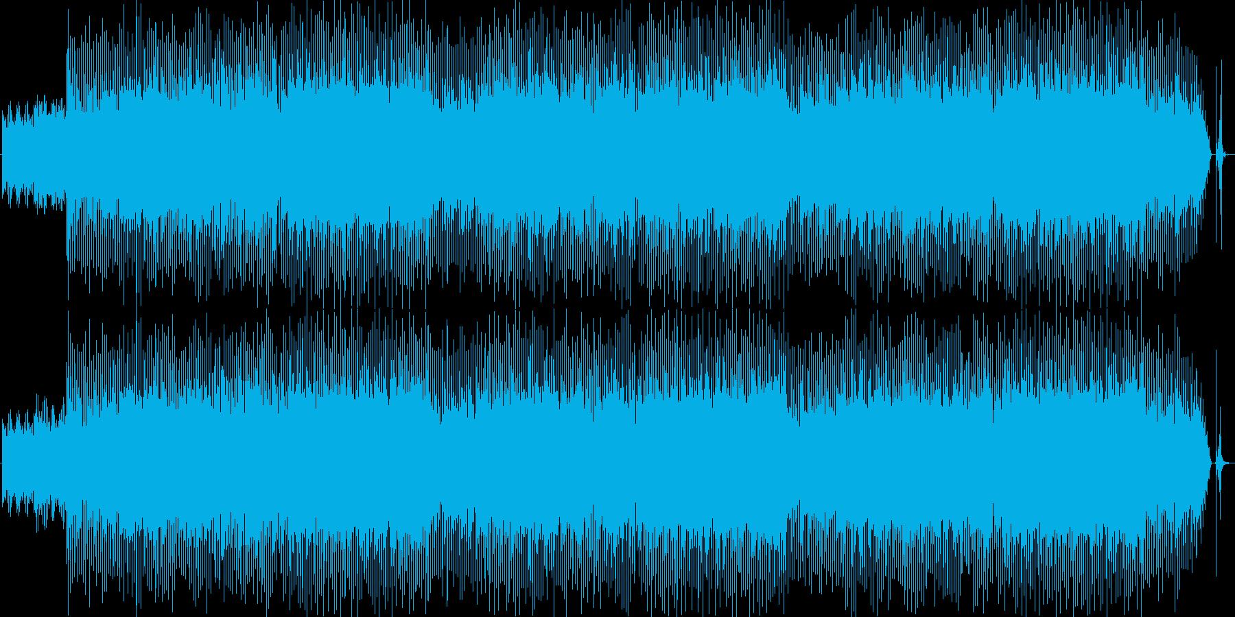 ちょっと派手ですが、聴いてみてくださ…の再生済みの波形