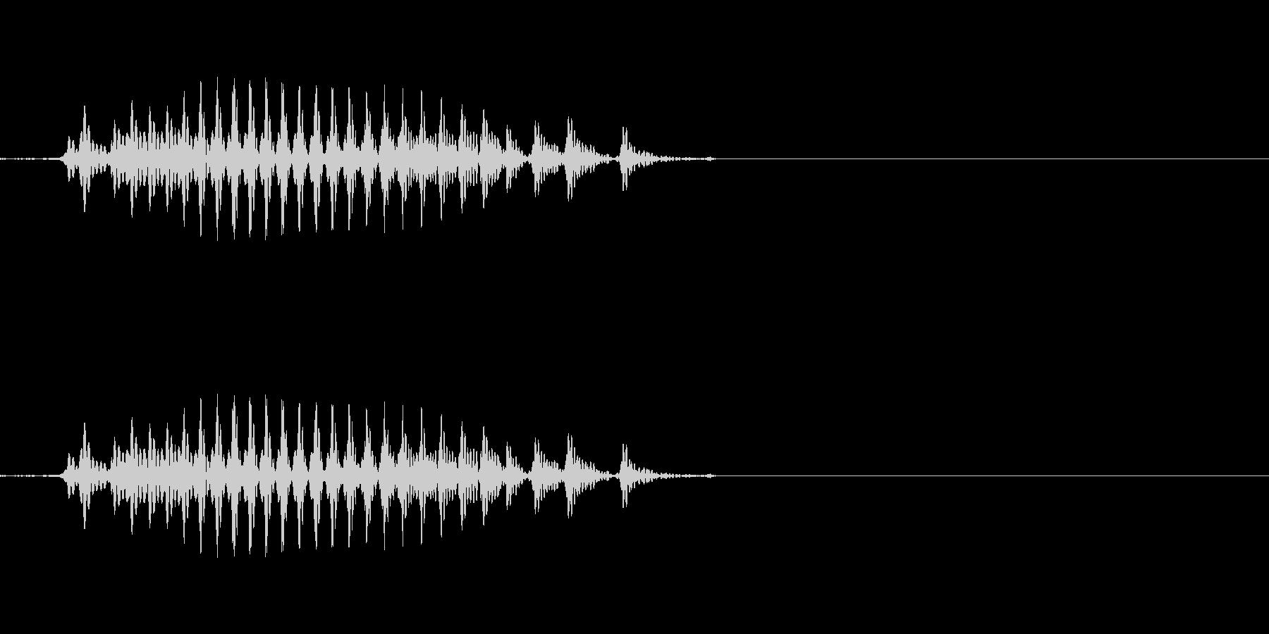 リュウ 六(6) 中国語(北京語) 男の未再生の波形