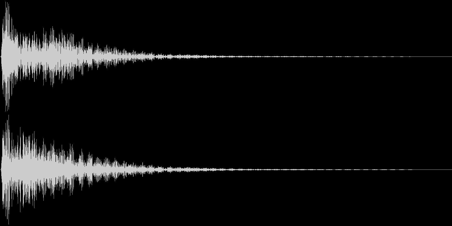 選択音、決定音など 宇宙風A ブオーンの未再生の波形