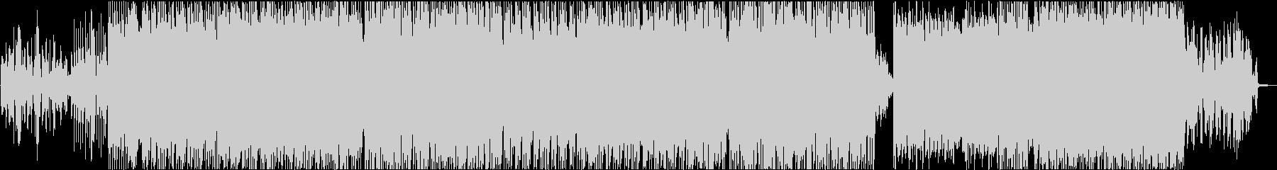 切ないシンセのリフが印象的なEDMの未再生の波形