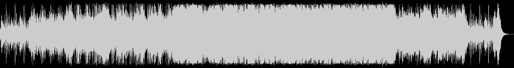 ハープとピアノが綺麗な三拍子のBGMの未再生の波形