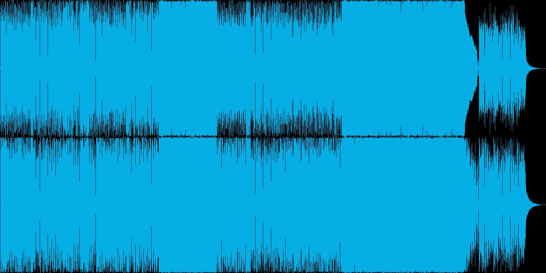 昭和な感じのレトロなポップスの再生済みの波形