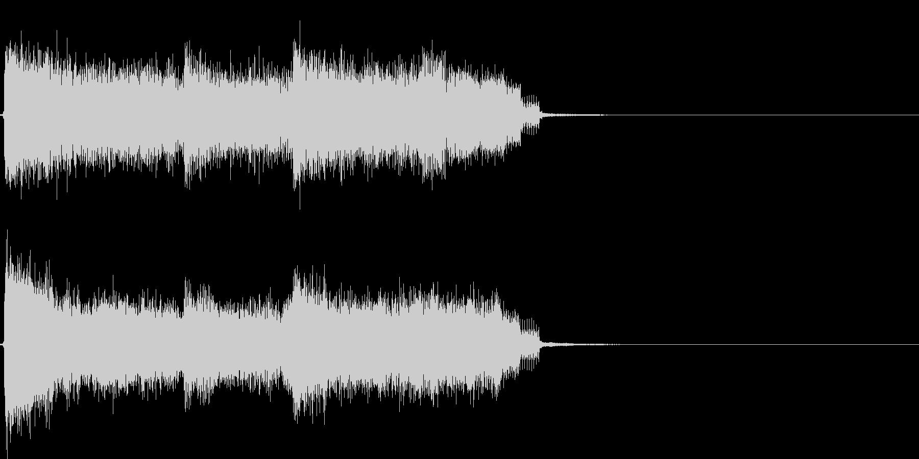 クイズなどのハズレた時をイメージの未再生の波形