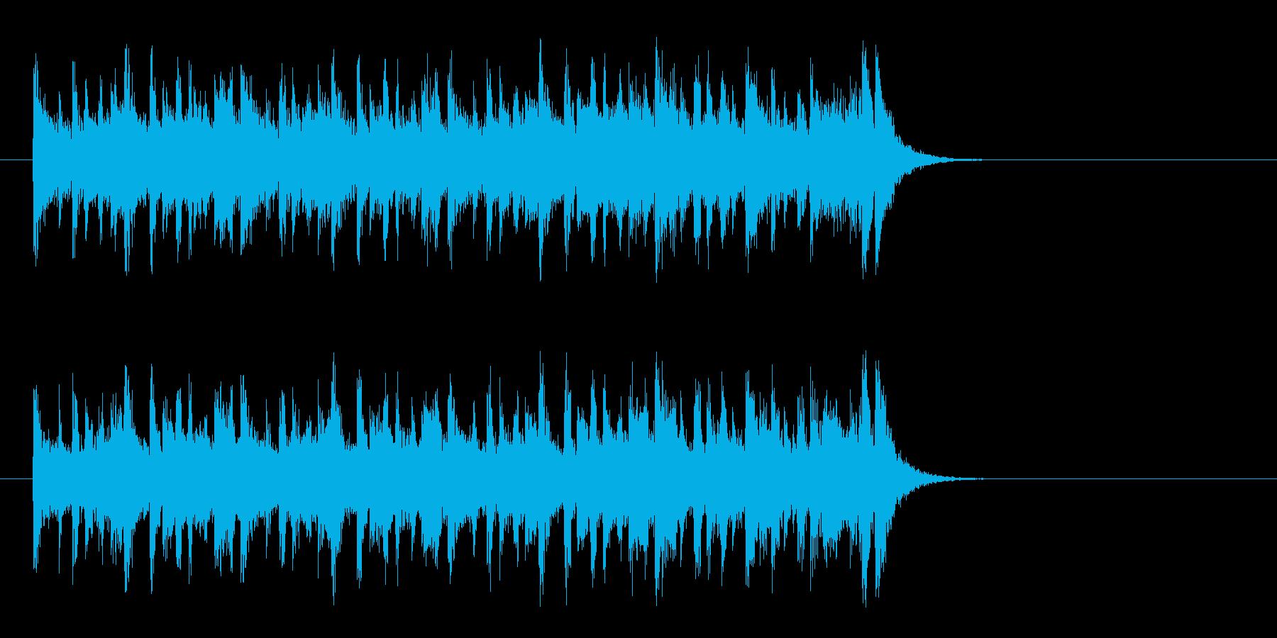 清々しい店内向けポップス(イントロ)の再生済みの波形