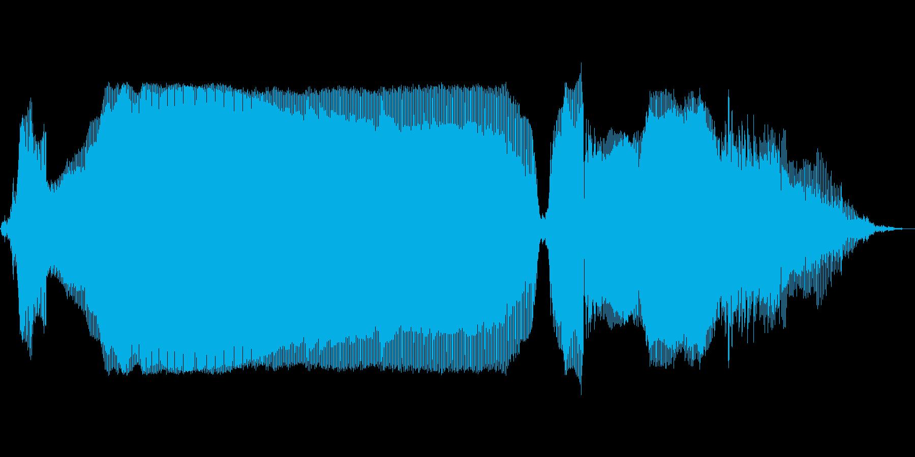 ゴーーール!の再生済みの波形