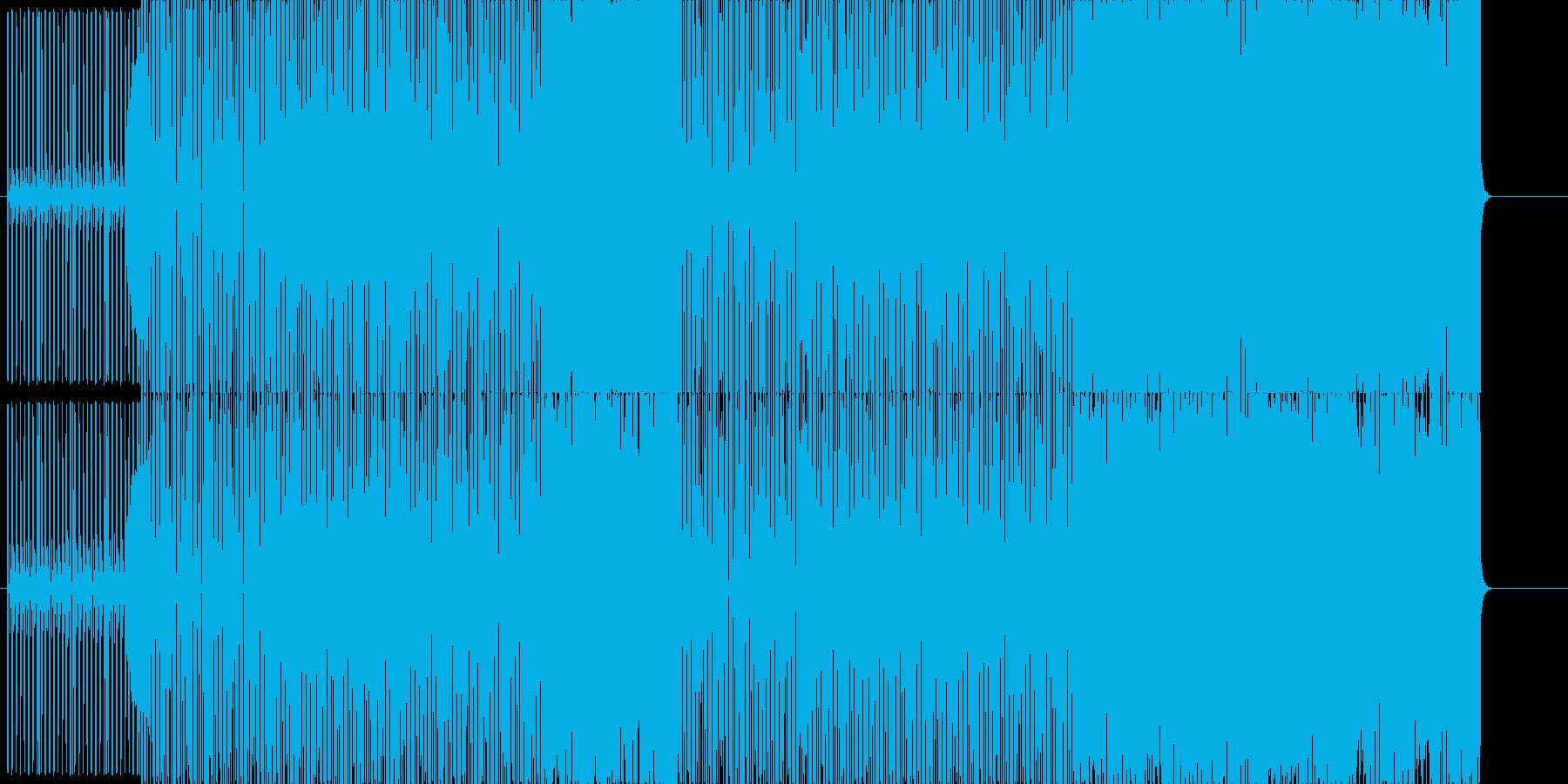 ゲーム系EDMの再生済みの波形