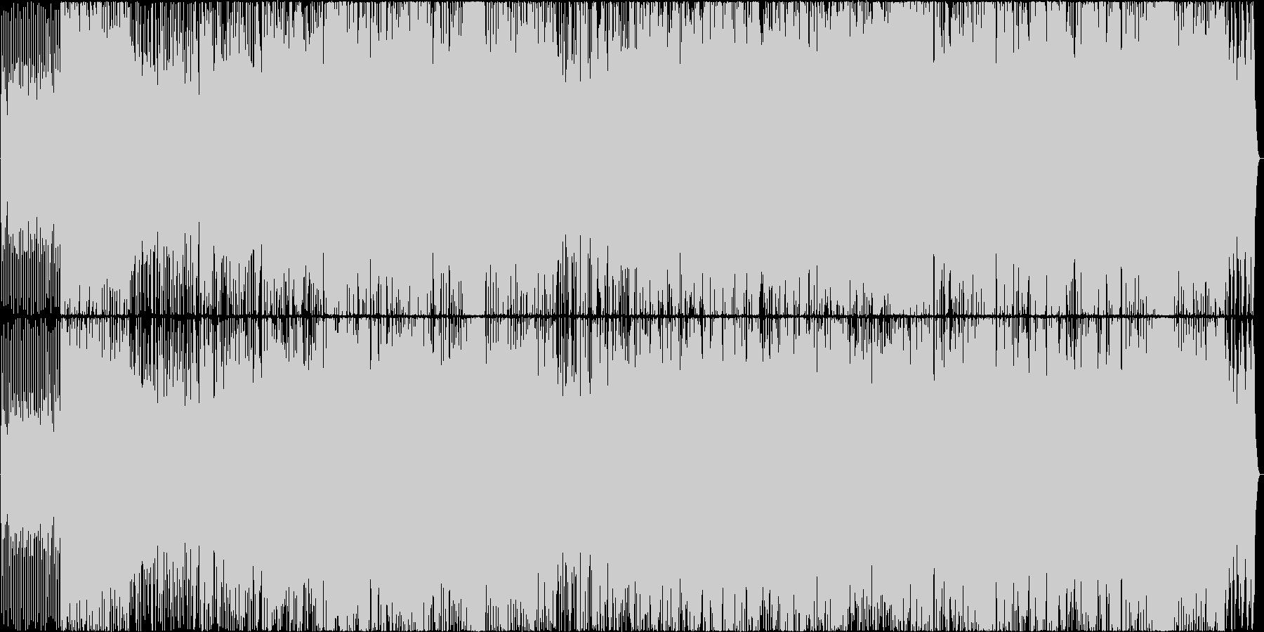 元気の出るポップロックの未再生の波形